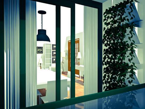 Varanda: Terraços  por A.28 - Arquitectura e Reabilitação de Interiores