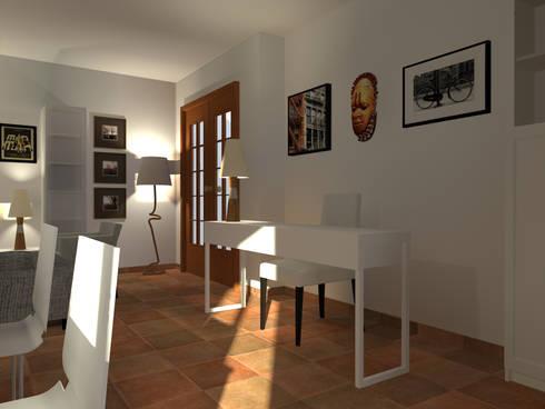 Zona de Trabalho: Espaços de trabalho  por A.28 - Arquitectura e Reabilitação de Interiores
