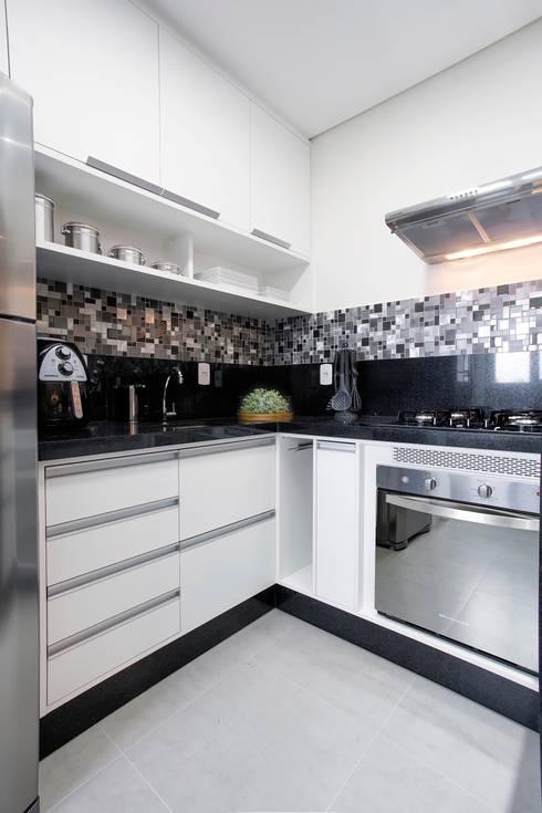 Küche von Andressa Saavedra Projetos e Detalhes