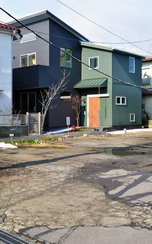 外観: 戸田晃建築設計事務所が手掛けた家です。
