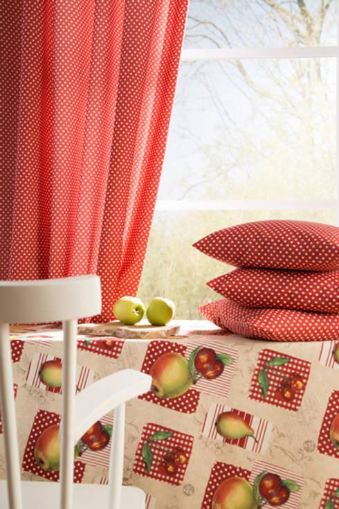 Indes Stoffe 4315-05 und Roundy 4316-01:  Fenster & Tür von Indes Fuggerhaus Textil GmbH