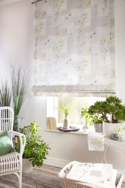 Projekty,  Okna i drzwi zaprojektowane przez Indes Fuggerhaus Textil GmbH