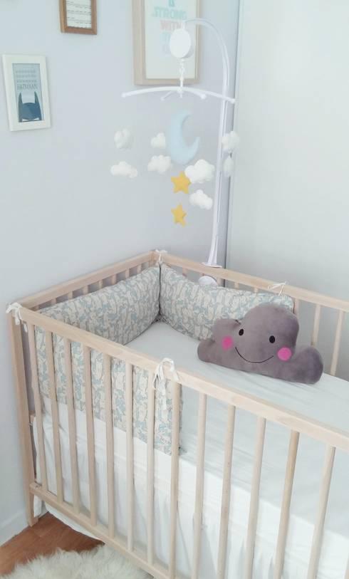 Mobile nuit étoilée pour lit de bébé - Déco chambre garçon ou fille ...