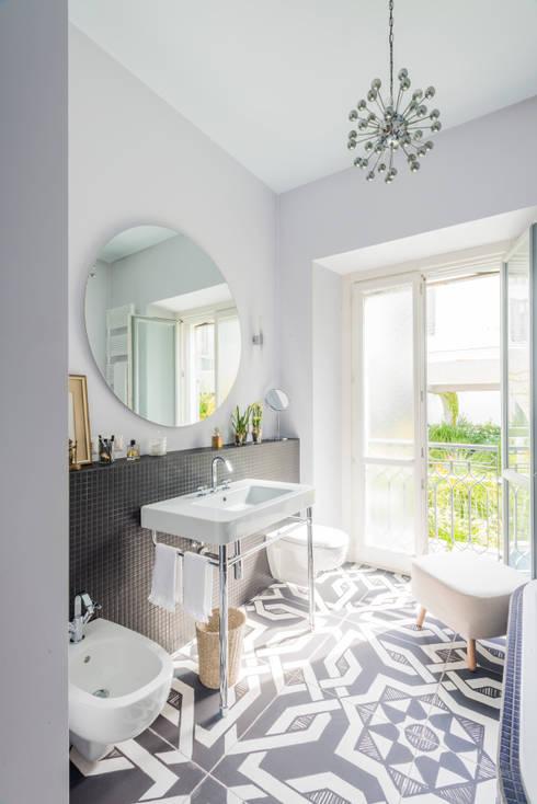 eclectic Bathroom by cristianavannini | arc