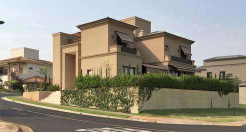 Residencia Rocha – Quinta Golfe: Casas  por FERNANDO ROMA . estudioROMA