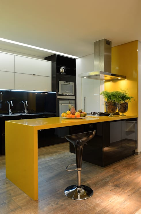 Projekty,  Kuchnia zaprojektowane przez Bastos & Duarte