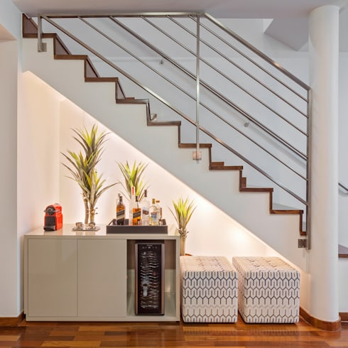 Loft Duplex: Salas de estar modernas por Laura Santos Design
