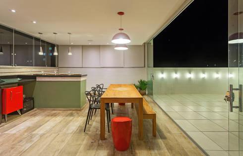 Projeto Cobertura : Terraços  por Laura Santos Design