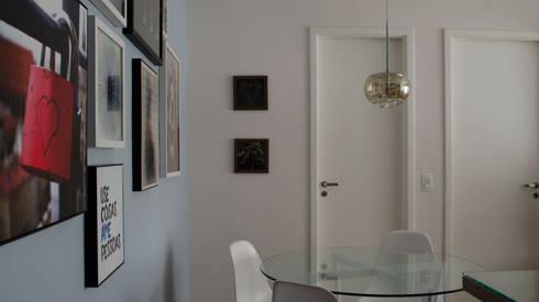 Decoração Vila Andrade.: Salas de jantar modernas por MEM Arquitetura
