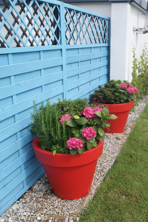 Jardines de estilo  por Zieleń i Przestrzeń