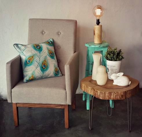 complemento neutros mas un toco de color!: Hogar de estilo  por Sepia interiores