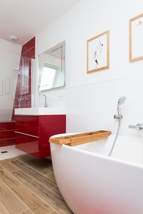 PROJET CBB: Salle de bains de style  par 19 DEGRES