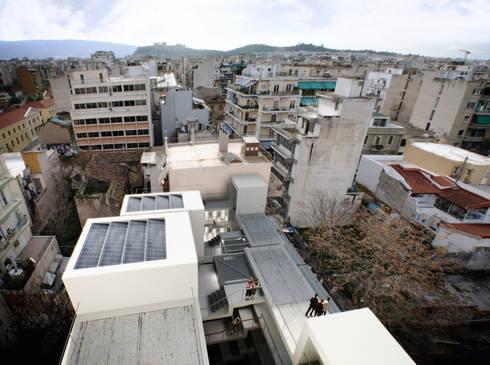 Terraços na cobertura:   por FORA - Fagulha Oliveira Ruivo