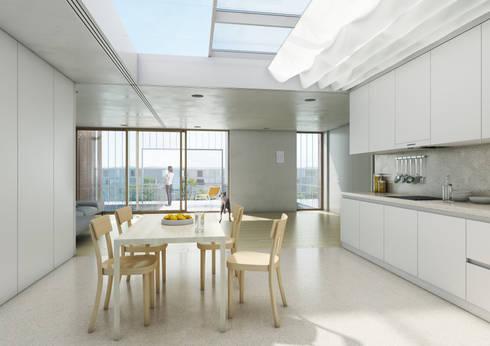 Interior dos apartamentos:   por FORA - Fagulha Oliveira Ruivo