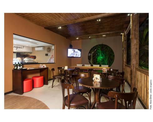 Cafeteria: Terraços  por Bastos & Duarte