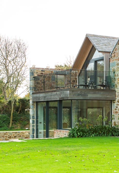 La Cherterie: modern Houses by CCD Architects