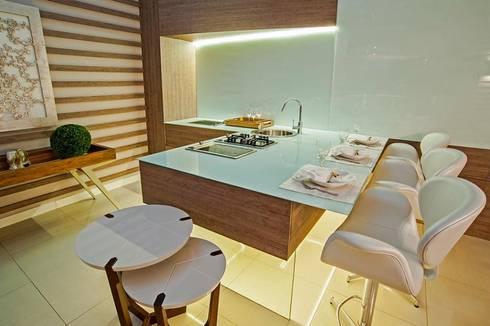 Cozinha Gourmet : Cozinhas modernas por M.A.I.S. - Management. Architecture.Interior. Solutions