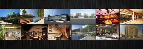 Imagen nogarq: Oficinas de estilo moderno por NOGARQ C.A.