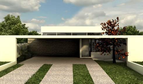 casa acessível: Casas modernas por GNC arquitetura e interiores