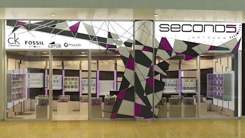 Seconds: Espacios comerciales de estilo  por NOGARQ C.A.