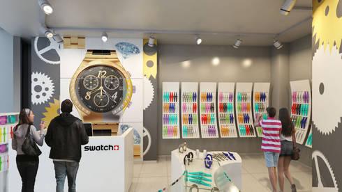 Swatch: Espacios comerciales de estilo  por NOGARQ C.A.