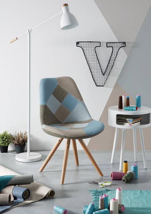 Cadeiras Chairs : Sala de jantar  por Intense mobiliário e interiores;