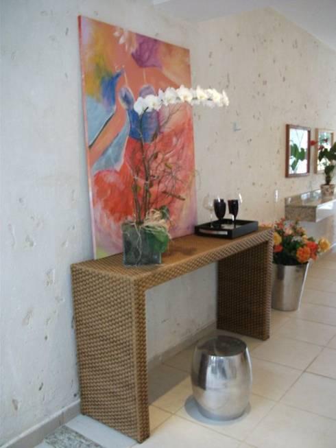 Flat: Salas de estar campestres por Renata Prata Studio