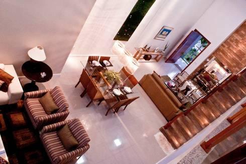 Sala de Estar: Salas de estar modernas por WB Arquitetos Associados