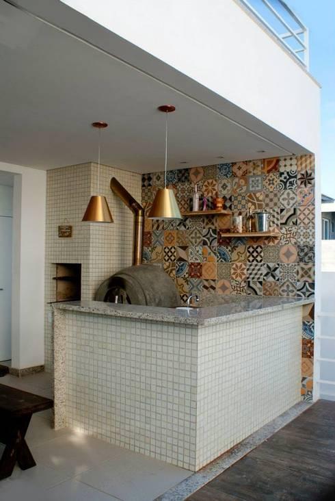 Espaço Gourmet: Terraços  por WB Arquitetos Associados