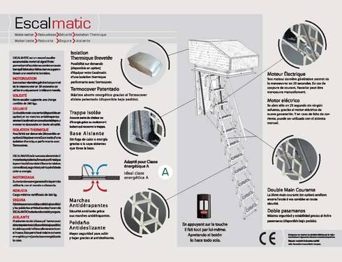 Ficha técnica : Vestíbulos, pasillos y escaleras de estilo  por Rintal
