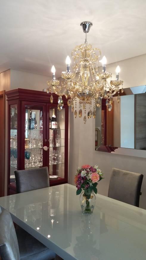 SALA DE JANTAR: Sala de jantar  por MARIANA MARTINEZ ARQUITETURA