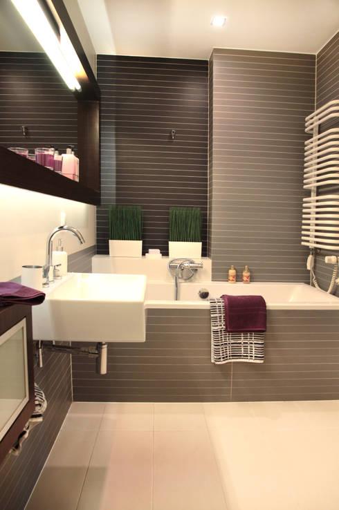 Łazienka: styl , w kategorii Łazienka zaprojektowany przez Mhomestudio