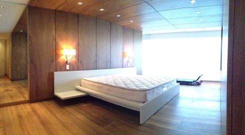 PH – LA ARBOLADA: Cuartos de estilo minimalista por PA - Puchetti Arquitectos