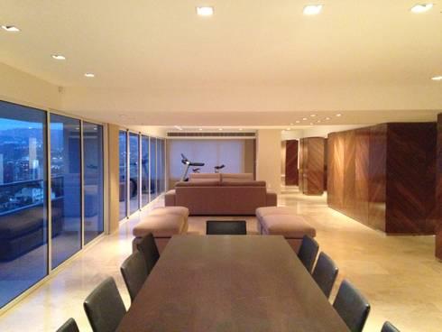 PH – LA ARBOLADA: Comedores de estilo minimalista por PA - Puchetti Arquitectos