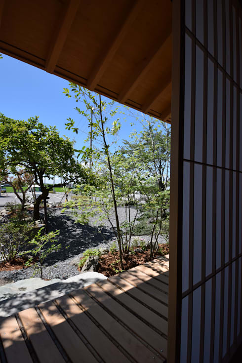house N: Snowdesignofficeが手掛けた庭です。