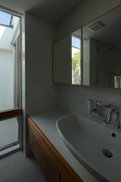 TRANSTYLE architects의  욕실