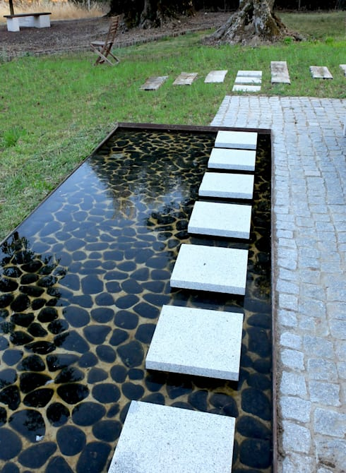 Jardines de estilo minimalista por Atelier Jardins do Sul