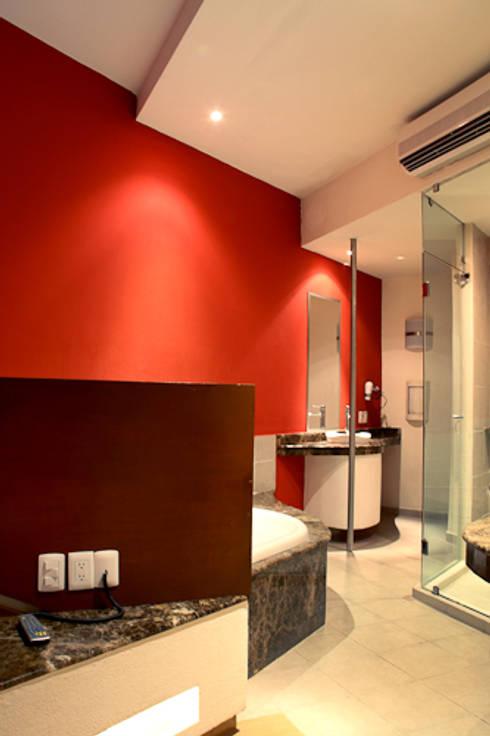 Hotel Sens : Casas de estilo moderno por DIN Interiorismo