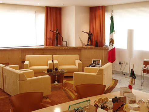 GEA: Estudios y oficinas de estilo moderno por DIN Interiorismo