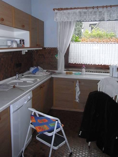 Küche vorher: moderne Küche von Grandi+Lutze