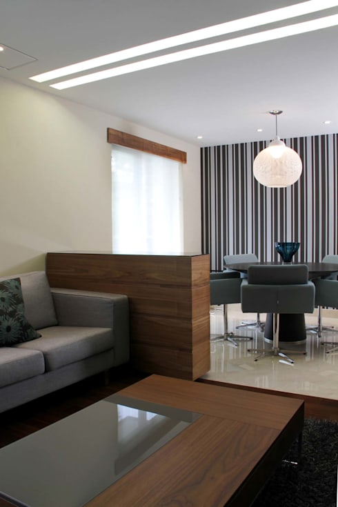 modern Living room by DIN Interiorismo