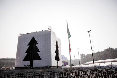 Árbol Ciudad de México : Casas de estilo moderno por Miguel de la Torre Arquitectos