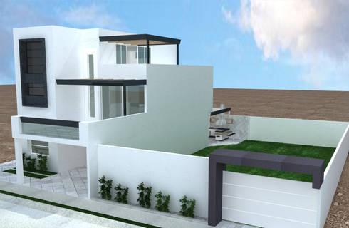PROYECTO DE REMODELACION TRES ARROYOS: Casas de estilo minimalista por A-labastrum   arquitectos