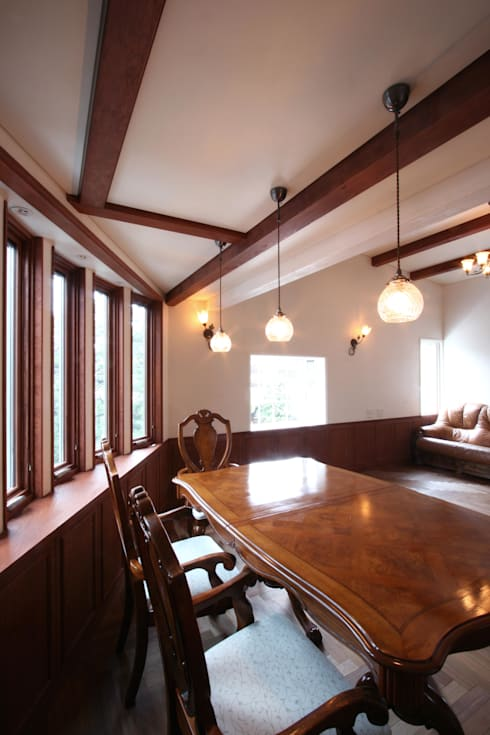 中川龍吾建築設計事務所의  다이닝 룸