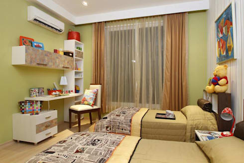 Kids Room 2: modern Nursery/kid's room by Tanish Design