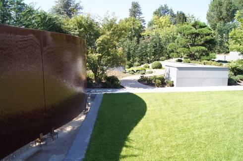 Moderner Familiengarten. Jardins Modernos Por Dirlenbach   Garten Mit Stil