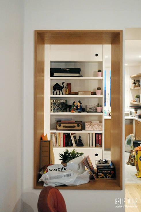 Comedores de estilo  de Belle Ville Atelier d'Architecture