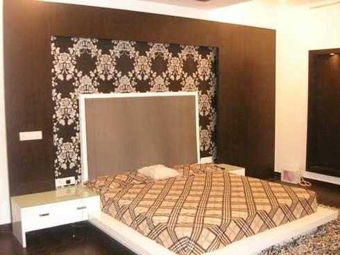 Interior Projects: modern Bedroom by Architect Harish Tripathi & Associates