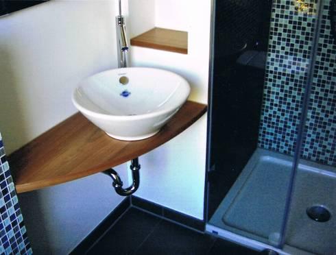 kleine b der g stebad und tages wc von grandi lutze homify. Black Bedroom Furniture Sets. Home Design Ideas