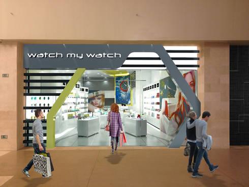 Watch my Watch: Espacios comerciales de estilo  por NOGARQ C.A.